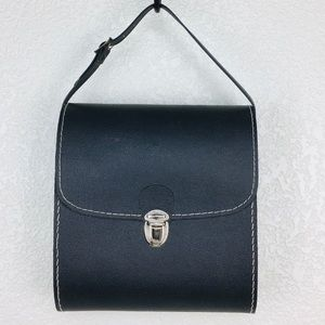 Vintage 60's Gothic Hard Case Camera Handbag